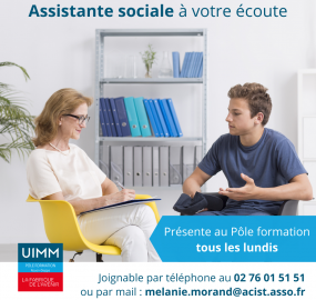 Assistante sociale apprentis